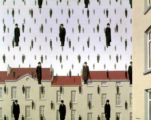 magritte-Golconde-1953